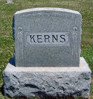 KERNS, FAMILY STONE - Madison County, Iowa   FAMILY STONE KERNS