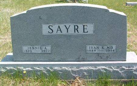 SAYRE, IVAN KELSO  (DR.) - Madison County, Iowa | IVAN KELSO  (DR.) SAYRE