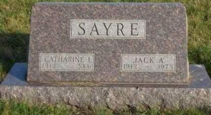 SAYRE, CATHARINE ISABELLE - Madison County, Iowa | CATHARINE ISABELLE SAYRE