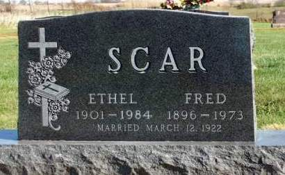 SCAR, ETHEL CECELIA - Madison County, Iowa | ETHEL CECELIA SCAR
