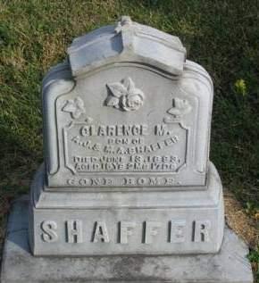 SHAFFER, CLARENCE M. - Madison County, Iowa   CLARENCE M. SHAFFER