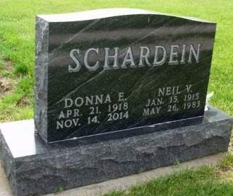 SCHARDEIN, DONNA EDITH - Madison County, Iowa | DONNA EDITH SCHARDEIN