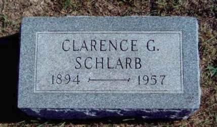 SCHLARB, CLARENCE GEORGE - Madison County, Iowa | CLARENCE GEORGE SCHLARB