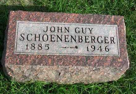 SCHOENENBERGER, JOHN GUY  (DR) - Madison County, Iowa   JOHN GUY  (DR) SCHOENENBERGER