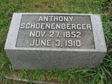 SCHOENENBERGER, ANTHONY - Madison County, Iowa | ANTHONY SCHOENENBERGER