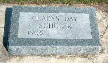 DAY SCHULER, GLADYS HELEN - Madison County, Iowa | GLADYS HELEN DAY SCHULER