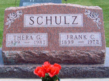 SCHULZ, FRANK CARL - Madison County, Iowa | FRANK CARL SCHULZ