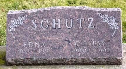 SCHUTZ, EDNA PAULINE - Madison County, Iowa | EDNA PAULINE SCHUTZ