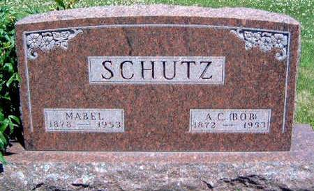SCHUTZ, MABEL EMALINE - Madison County, Iowa | MABEL EMALINE SCHUTZ