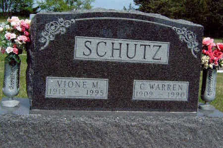 LANG SCHUTZ, VIONE MILDRED - Madison County, Iowa | VIONE MILDRED LANG SCHUTZ