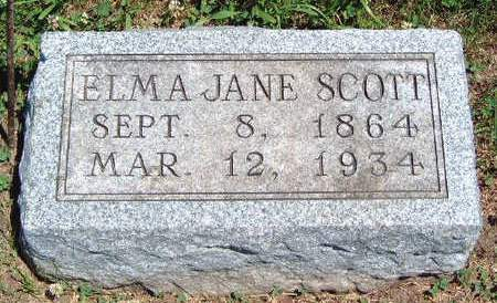 SCOTT, ELMA JANE - Madison County, Iowa | ELMA JANE SCOTT