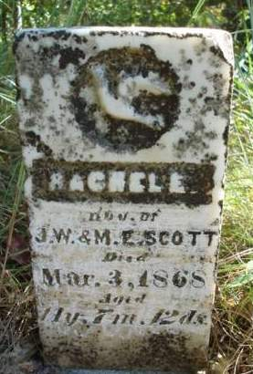 SCOTT, RACHEL E. - Madison County, Iowa | RACHEL E. SCOTT