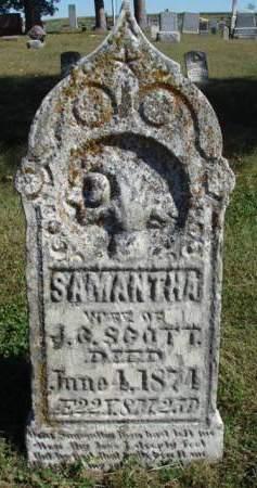 SCOTT, SAMANTHA - Madison County, Iowa | SAMANTHA SCOTT