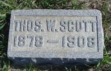 SCOTT, THOMAS W. - Madison County, Iowa | THOMAS W. SCOTT