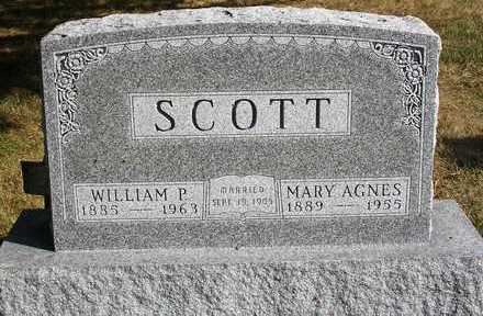 HOULETTE SCOTT, MARY AGNES - Madison County, Iowa | MARY AGNES HOULETTE SCOTT