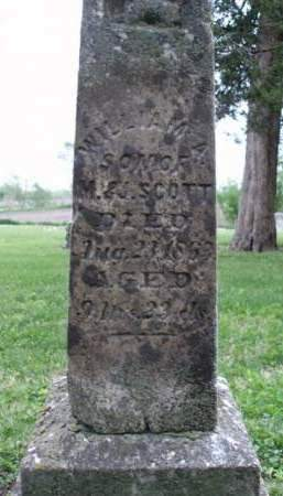 SCOTT, WILLIAM A. - Madison County, Iowa | WILLIAM A. SCOTT