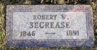 SECREASE, ROBERT W. - Madison County, Iowa | ROBERT W. SECREASE