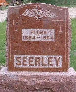 SEERLEY, FLORA - Madison County, Iowa | FLORA SEERLEY