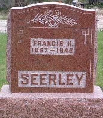 SEERLEY, FRANCIS HILERY - Madison County, Iowa | FRANCIS HILERY SEERLEY