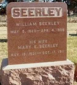 SEERLEY, MARY ELLEN - Madison County, Iowa | MARY ELLEN SEERLEY