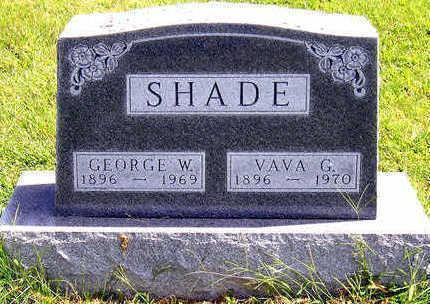 SHADE, GEORGE WILSON - Madison County, Iowa | GEORGE WILSON SHADE