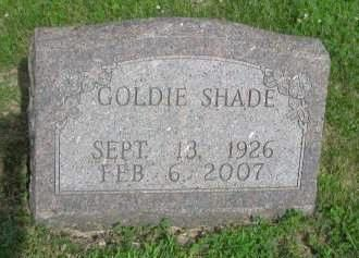 SHADE BROWN , GOLDIE MARIE - Madison County, Iowa | GOLDIE MARIE SHADE BROWN