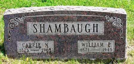 SHAMBAUGH, WILLIAM EDWARD - Madison County, Iowa | WILLIAM EDWARD SHAMBAUGH