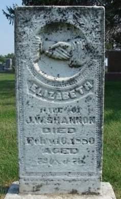 SHANNON, ELIZABETH - Madison County, Iowa | ELIZABETH SHANNON