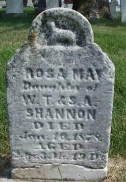 SHANNON, ROSA MAY - Madison County, Iowa | ROSA MAY SHANNON