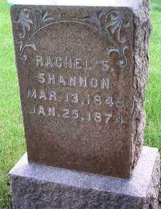SHANNON, RACHEL S. - Madison County, Iowa | RACHEL S. SHANNON