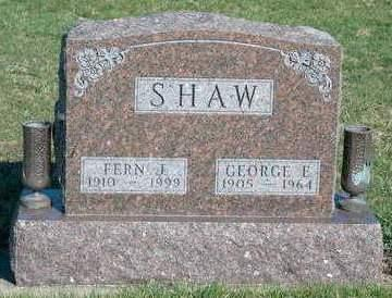 SHAW, GEORGE EVANS - Madison County, Iowa | GEORGE EVANS SHAW
