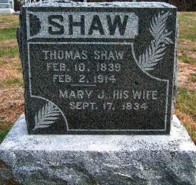 BRADY SHAW, MARY JANE - Madison County, Iowa | MARY JANE BRADY SHAW