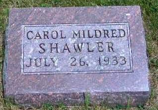 SHAWLER, CAROL MILDRED - Madison County, Iowa | CAROL MILDRED SHAWLER