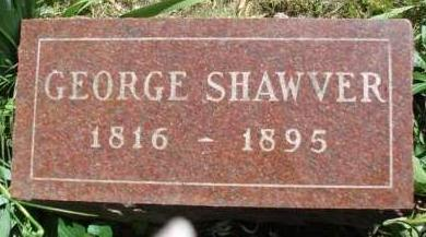 SHAWVER, GEORGE - Madison County, Iowa | GEORGE SHAWVER