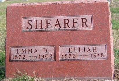 SHEARER, EMMA DORA - Madison County, Iowa | EMMA DORA SHEARER