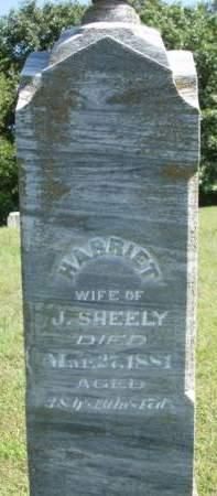 SHEELY, HARRIET - Madison County, Iowa | HARRIET SHEELY