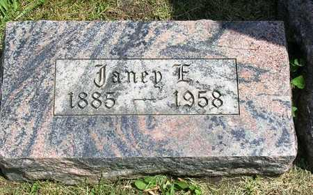 SHEETS, EFFIE JANE D. (JANIE) - Madison County, Iowa | EFFIE JANE D. (JANIE) SHEETS