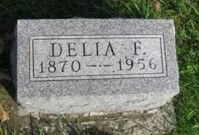 SHELDON, DELIA FRANCES - Madison County, Iowa | DELIA FRANCES SHELDON
