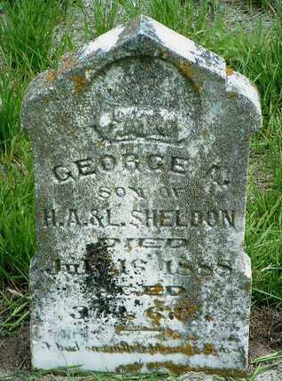 SHELDON, GEORGE ARTHUR - Madison County, Iowa | GEORGE ARTHUR SHELDON