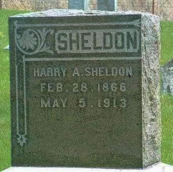 SHELDON, HARRY AUGUSTUS - Madison County, Iowa | HARRY AUGUSTUS SHELDON