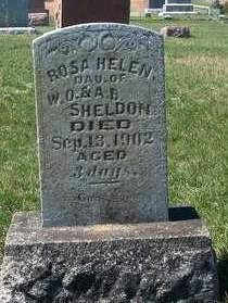 SHELDON, ROSA HELEN - Madison County, Iowa | ROSA HELEN SHELDON