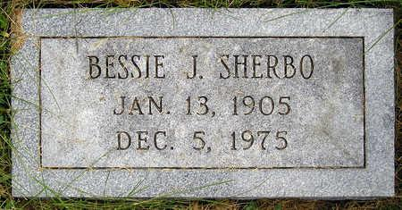SHERBO, BESSIE JANE - Madison County, Iowa | BESSIE JANE SHERBO