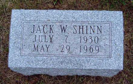 SHINN, JACK W. - Madison County, Iowa | JACK W. SHINN