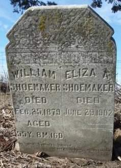 WITHAM SHOEMAKER, ELIZA ANN - Madison County, Iowa | ELIZA ANN WITHAM SHOEMAKER