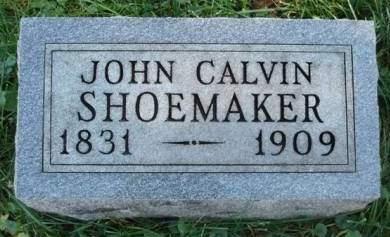 SHOEMAKER, JOHN CALVIN - Madison County, Iowa   JOHN CALVIN SHOEMAKER