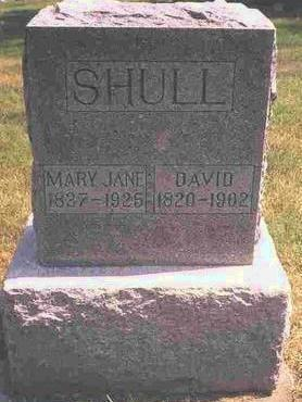 FRY SHULL, MARY JANE - Madison County, Iowa | MARY JANE FRY SHULL