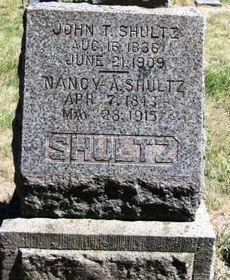 SHULTZ, JOHN THOMAS - Madison County, Iowa   JOHN THOMAS SHULTZ