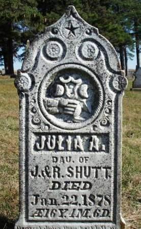 SHUTT, JULIA A. - Madison County, Iowa | JULIA A. SHUTT