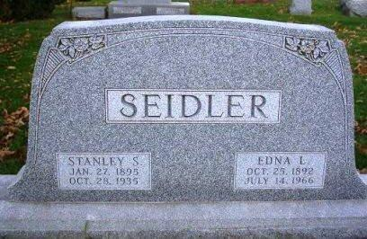SEIDLER, EDNA L. - Madison County, Iowa | EDNA L. SEIDLER