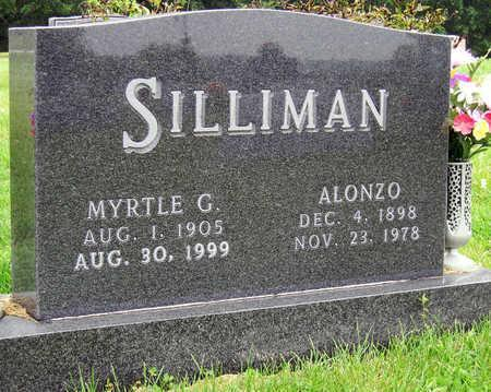 SILLIMAN, MYRTLE GERTRUDE - Madison County, Iowa | MYRTLE GERTRUDE SILLIMAN
